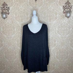 BOGO Terra & Sky Long Sleeve Sweater Women's 2X